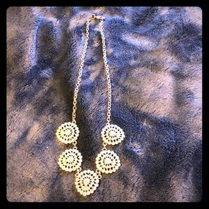 5 medallion Necklace